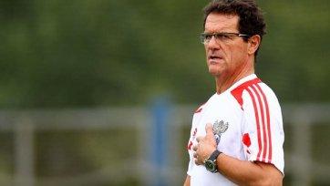 Капелло: «Я отказал «Роме», так как связан контрактом со сборной России»