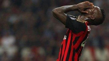 «Милан» не будет опротестовывать дисквалификацию Балотелли