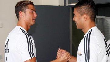 Касемиро: «Роналду – мой друг, он мне очень помогает во всем»