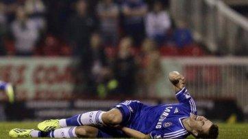 Полузащитник «Челси» ван Гинкел в этом сезоне уже не сыграет