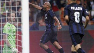 «Интер» добивается волевой победы над «Фиорентиной»