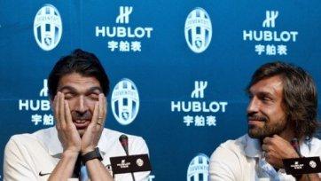 Буффон: «Очень хочу, чтобы Пирло остался в «Ювентусе»