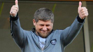 Кадыров: «Спасибо всем, кто верил в «Терек»