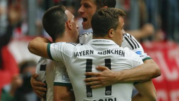 «Бавария» сильнее «Вольфсбурга»