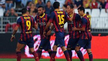 «Барселона» одерживает седьмую победу кряду