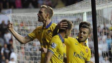 «Арсенал» выходит в единоличные лидеры