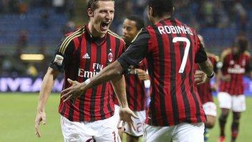 Бирса забивает, «Милан» побеждает