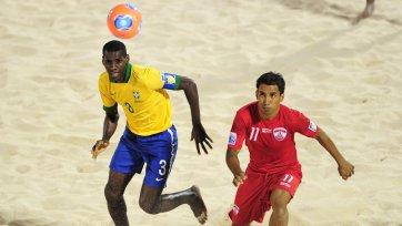Сборные Бразилии и Таити забили на двоих 14 мячей