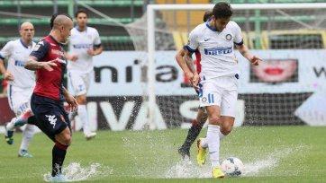 «Интер» упустил победу в матче с «Кальяри»