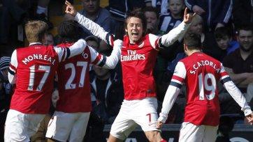 «Арсенал»: в основе вместо Уилшира – Росицки