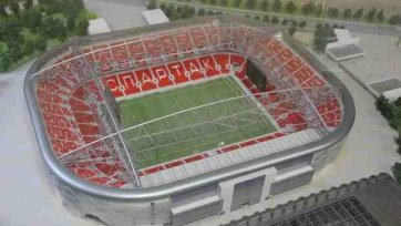 Летом следующего года арена «Спартака» будет сдана в эксплуатацию