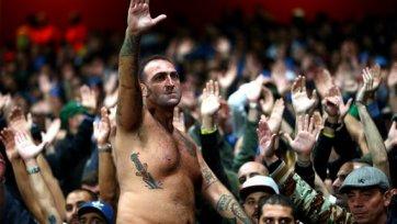 Тиффози «Наполи» устроили беспорядки в Лондоне