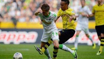 Дортмундская «Боруссия» потерпела первое поражение в Бундеслиге