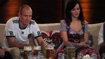 Роббен не против выпить пива