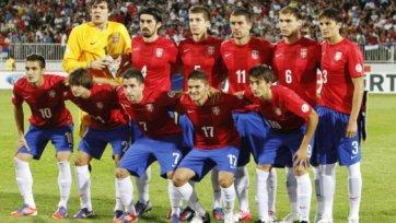 Сербия определилась с составом