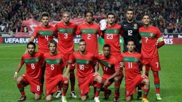 Рокировка в составе сборной Португалии