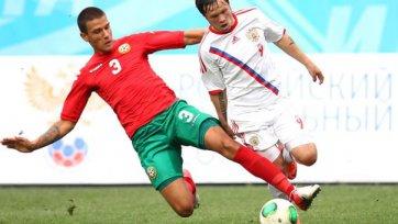Голевой дождь в матче молодежных сборных Болгарии и России