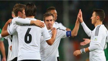 Сборная Германии бронирует билеты в Бразилию