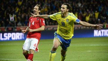 Ибрагимович вывел шведов в стыковые матчи ЧМ-2014 года