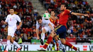 Испания одержала непростую победу над Белоруссией