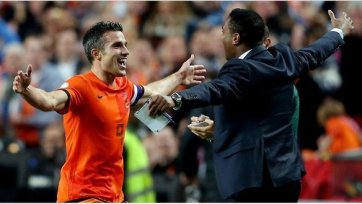 Ван Перси стал лучшим бомбардиром сборной Голландии в истории