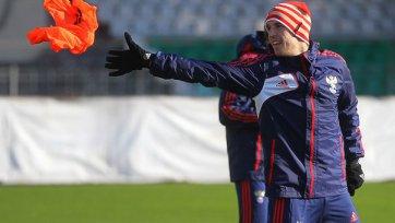 Дмитрий Комбаров и Алексей Березцкий тренируются индивидуально