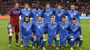 Италия проведет в ноябре две контрольные встречи