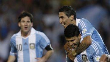Агуэро и Ди Мария не сыграют с Уругваем
