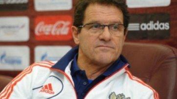 Капелло дал указания работникам бакинского стадиона