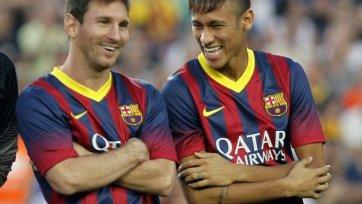 Неймар: «Месси – это изумительный футболист»