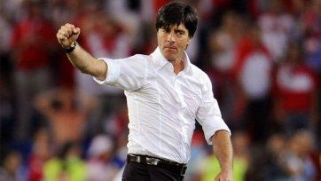 Йоахим Лев продлит контракт со сборной Германии