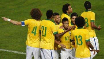 Замбию в игре с Бразилией хватило на один тайм