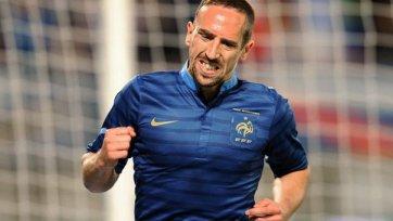 Рибери: «Не хочется попасть на Хорватию и Португалию»