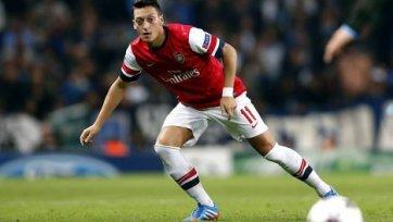 «Арсенал» сможет рассчитывать на Озила