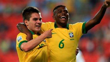 Бразилия стартовала с победы на юношеском чемпионате мира