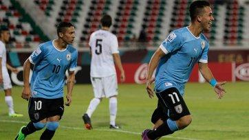 Уругвай отгрузил семь безответных мячей Новой Зеландии