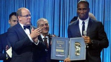 Дрогба выиграл премию Golden Foot