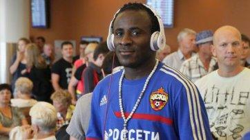 Думбия поможет ЦСКА в игре с «Зенитом»