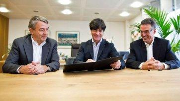 Официально: Лев продлил соглашение с немецкой сборной