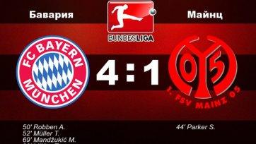 «Бавария» без проблем обыграла «Майнц»