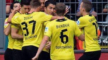 Дортмундская «Боруссия» с минимальным счетом переиграла «Ганновер»
