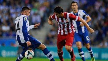 «Атлетико» проиграл «Эспаньолу» и упустил шанс выйти на первое место