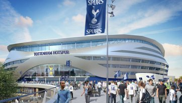 «Тоттенхэм» начнет строительство нового стадиона