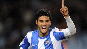 Карлос Вела: «Сейчас я играю лучше, чем в «Арсенале»