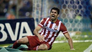 Диего Коста может не сыграть против «Аустрии»
