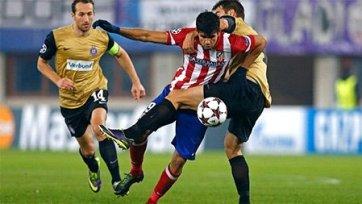 «Атлетико» рвется в плей-офф