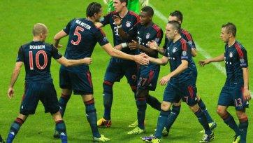 «Бавария» не заметила чешскую «Викторию»