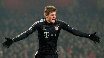 Кроос: «Думаю, «Бавария» может начинать готовиться к 18 финала ЛЧ»