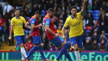 «Арсенал» одержал гостевую победу над «Кристал Пэлас»