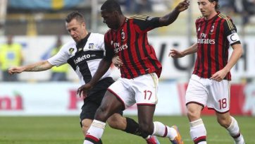 «Парма» вырывает победу над «Миланом»